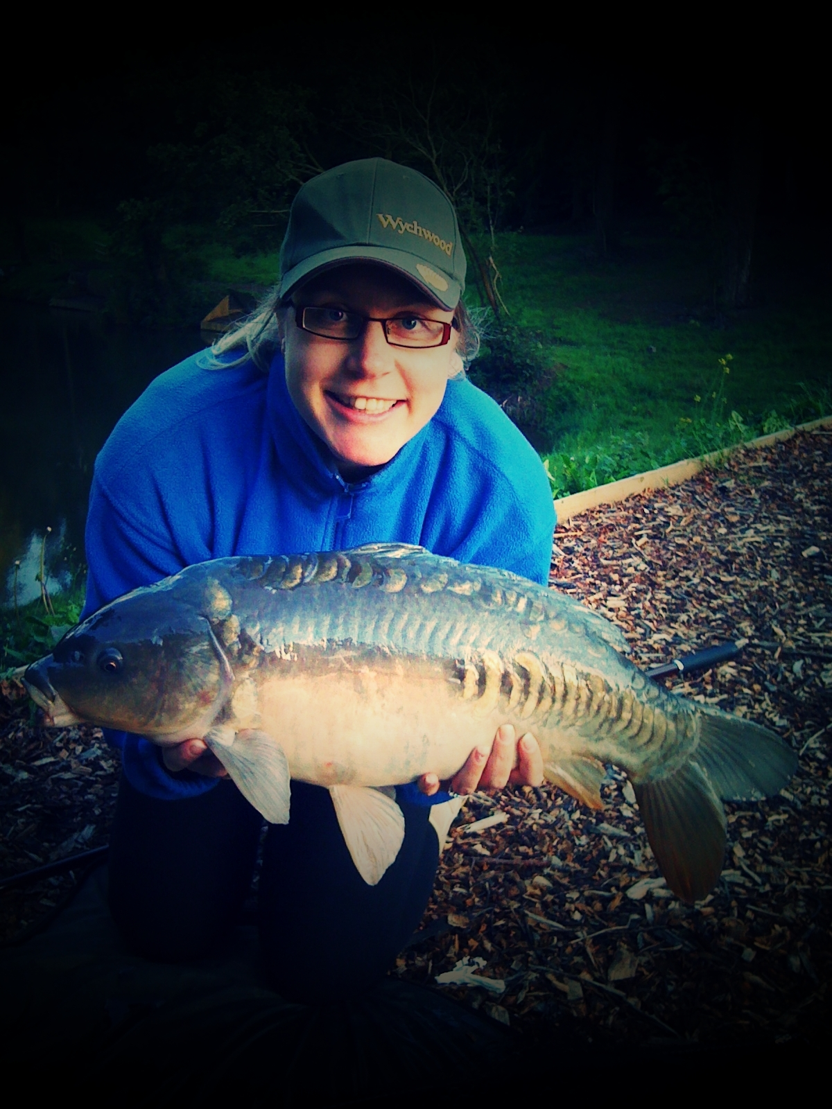 Holly with a 14lb Mirror
